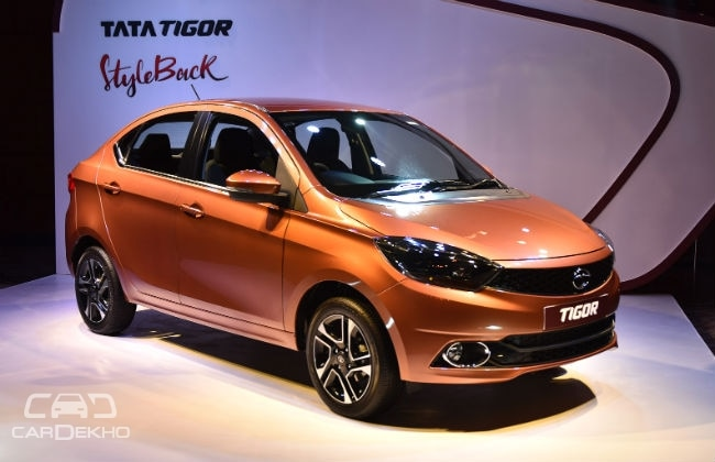 Tata TIGOR- opens Booking with Rs 5000, India Launch on March 29