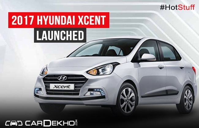 Hyundai launches all new Xcent at Rs 8.41 lakh