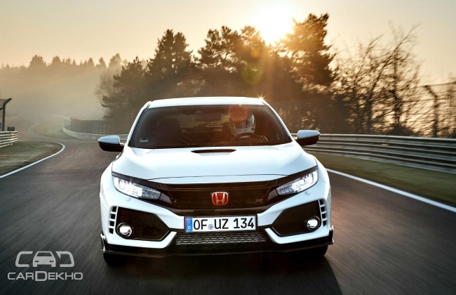 Civic Type-R Buzz driving Honda performance hatchback feeding frenzy