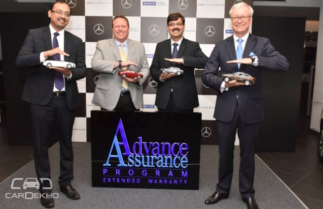 Mercedes-Benz to offer Advanced Assurance Programme in India