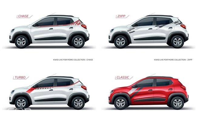 7 New Graphic Designs For Renault Kwid Live More Edition