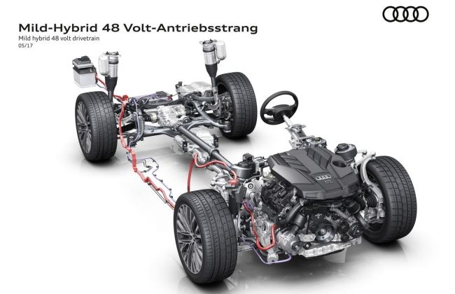 Audi A8 Can Be Driven With The Engine Off At 160 Km/h