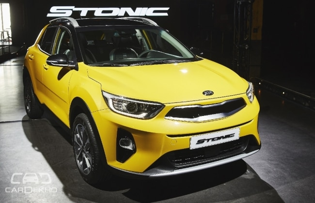 kia reveals stonic suv to go on sale in europe in q3 2017. Black Bedroom Furniture Sets. Home Design Ideas