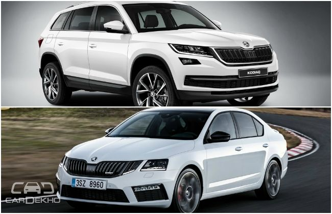 skoda to launch kodiaq in q4 2017 octavia rs coming in august 2017. Black Bedroom Furniture Sets. Home Design Ideas
