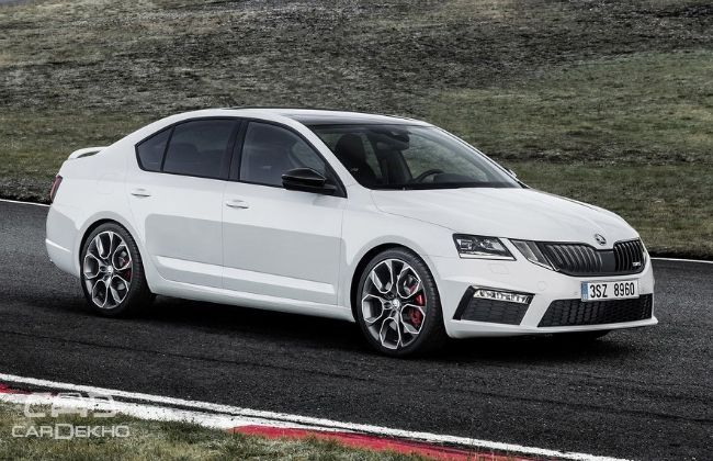 skoda to launch octavia rs and kodiaq in september. Black Bedroom Furniture Sets. Home Design Ideas