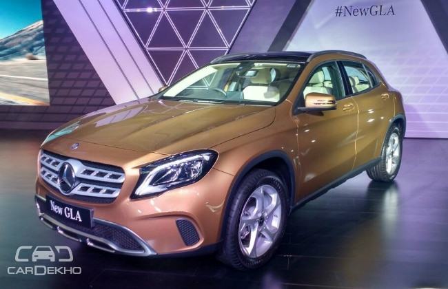 Mercedes-Benz new GLA launches in India starting at Rs 30.65 lakh