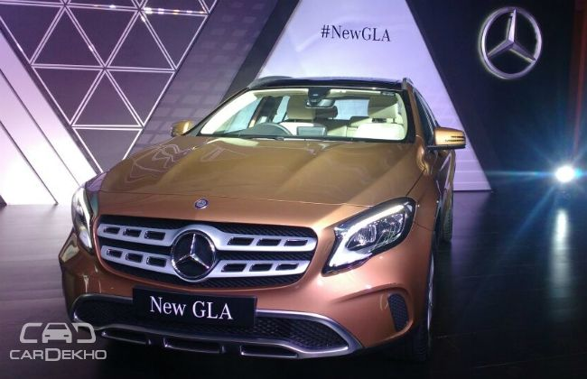 Mercedes-Benz GLA launched in India at Rs 30.65 lakh