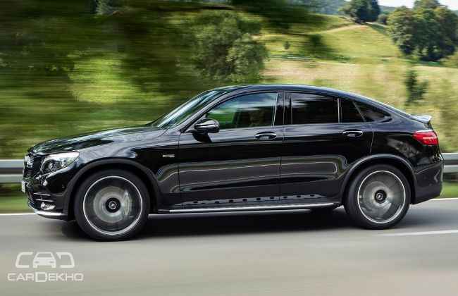 Mercedes amg glc 43 4matic coupe to launch on july 21 for Mercedes benz for sale in india
