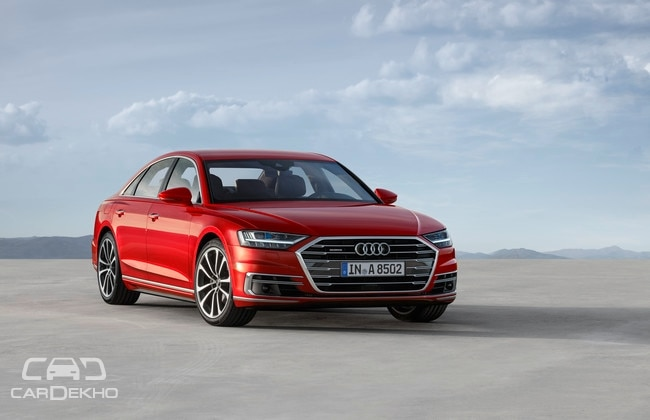 New Audi A8 sedan makes world debut