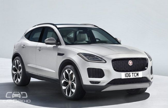 Jaguar E-Pace Unveiled With World's Furthest Barrel Roll Stunt