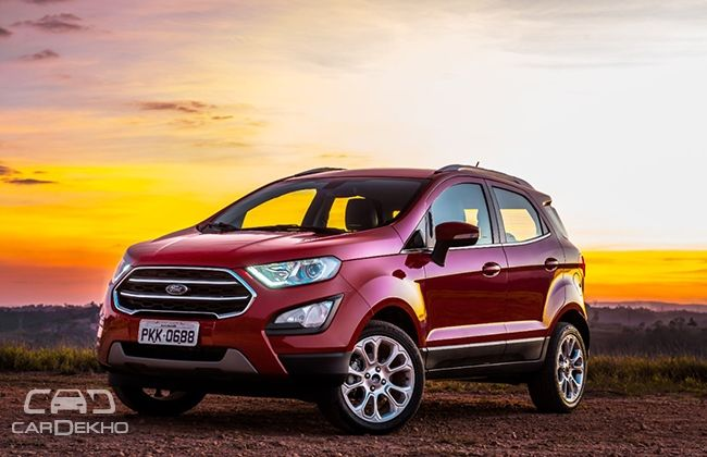 Updated Ford EcoSport