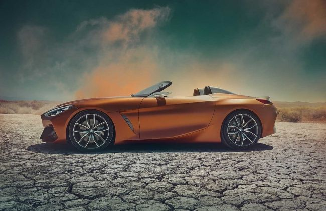 All-new BMW Z4 teased, will make its debut tomorrow