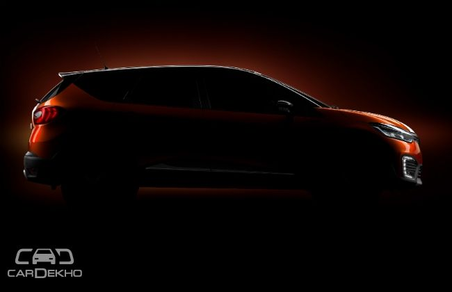 Renault Captur Crossover Teased; India Launch Confirmed for Festive Season