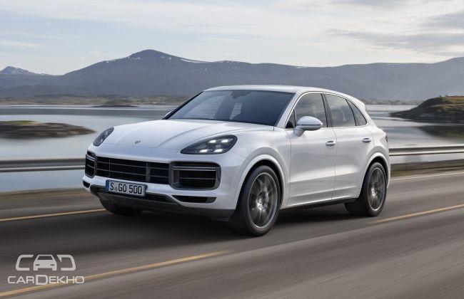 New Porsche Cayenne Turbo