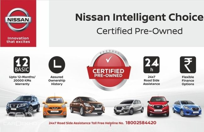 Nissan India Enters Pre-Owned Car Business