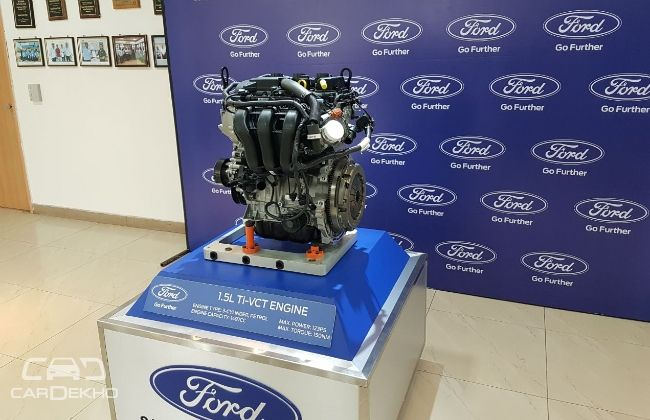 New 1.5-litre Ti-VCT Petrol Engine