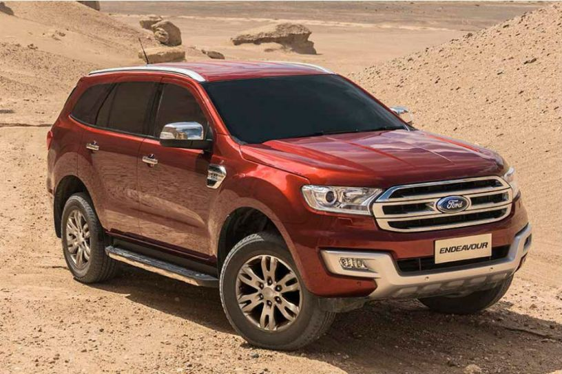 Ford Endeavour 2.2 Titanium Comes with A Sunroof Now