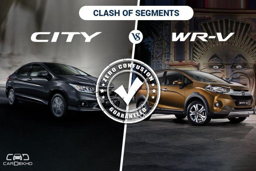 Clash Of the Segments: City vs WR-V