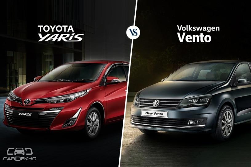 Yaris vs Vento