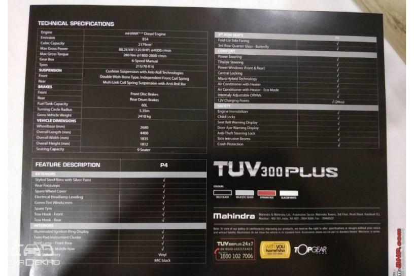 Leaked Brochure