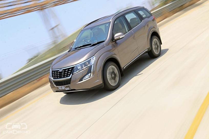 Mahindra XUV500 Facelift