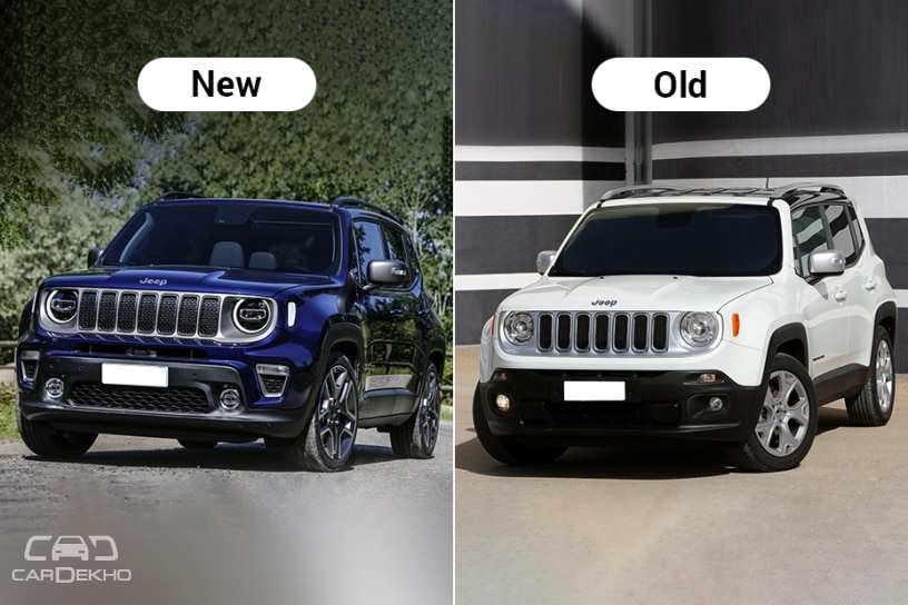 jeep renegade facelift revealed will rival creta duster. Black Bedroom Furniture Sets. Home Design Ideas