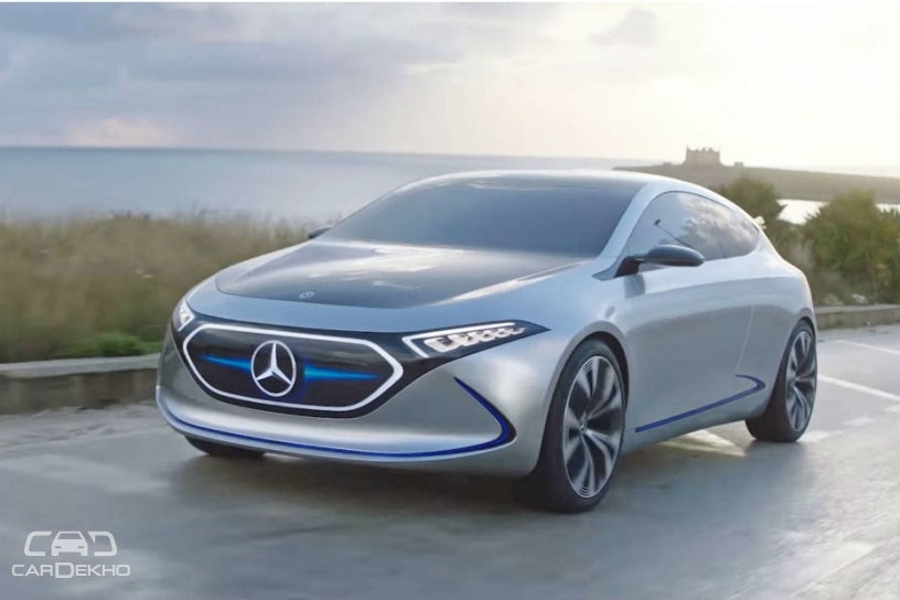 Mercedes-Benz Showcases EQA Prototype; To Rival Tesla's Upcoming Compact Car