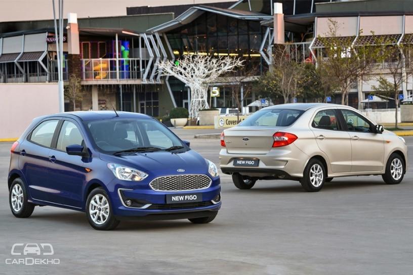 Ford Figo and Aspire Facelift
