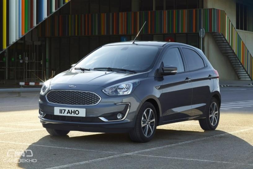 Ford KA+ (Euro-spec)