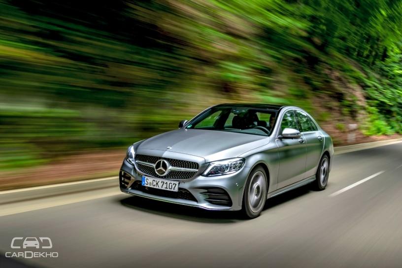 2019 Mercedes-Benz C-Class Facelift