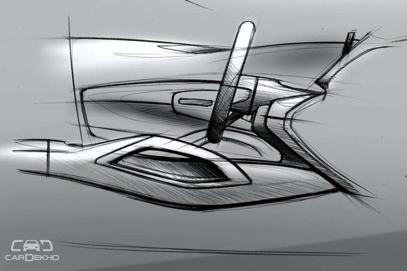 Mercedes-Ben GLE Official Sketches