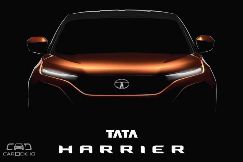 Tata Harrier teaser image