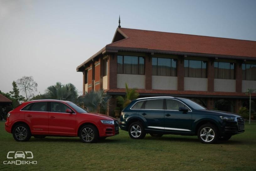 Audi Q3 and Q7 Design Editions