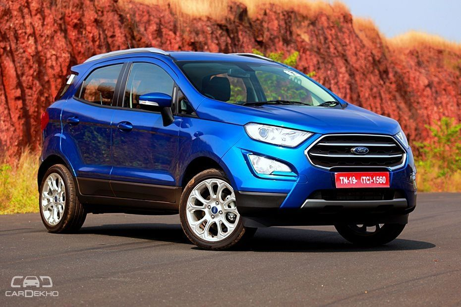 Ford Ecosport Review Diesel Amp Petrol From Experts Cardekho