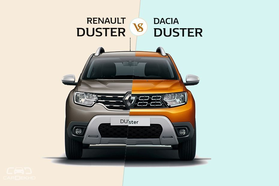 2018 Renault Duster vs Dacia Duster