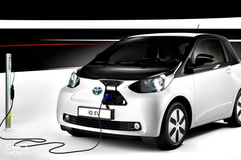 toyota 39 s first electric vehicle in india could be a small car. Black Bedroom Furniture Sets. Home Design Ideas
