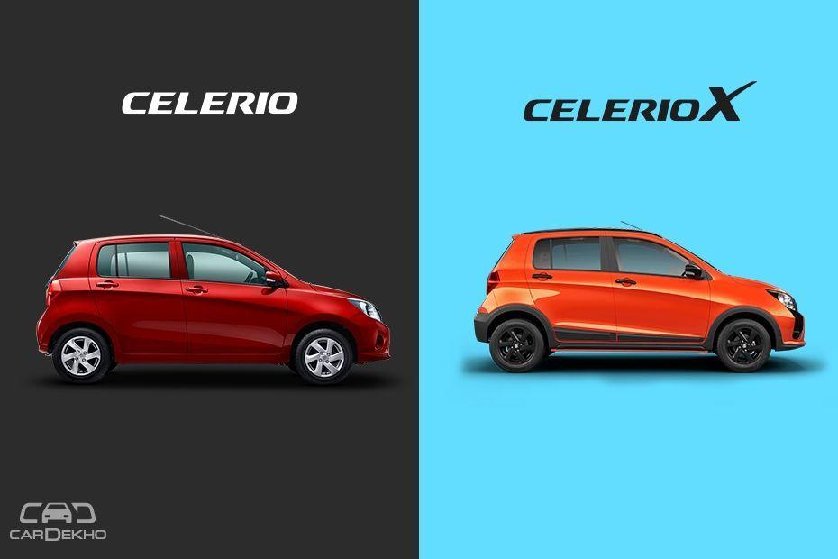 Maruti Suzuki Celerio vs CelerioX