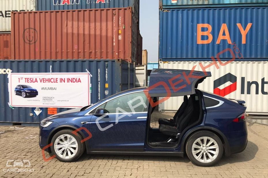 First-Ever Tesla Arrives In India