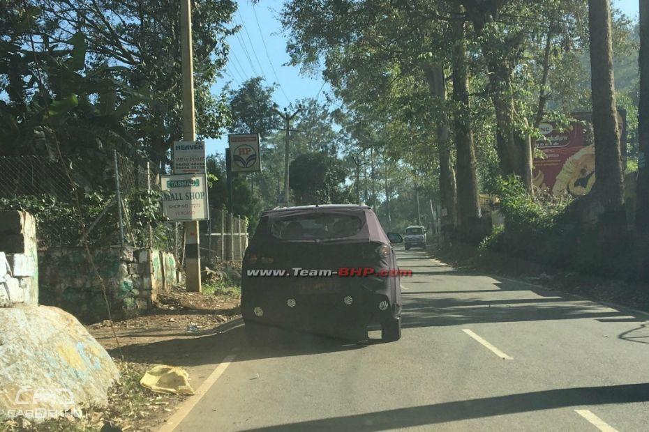 Updated Hyundai Creta Spotted