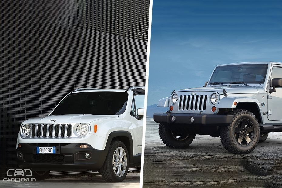 Jeep Renegade and Wrangler Unlimited