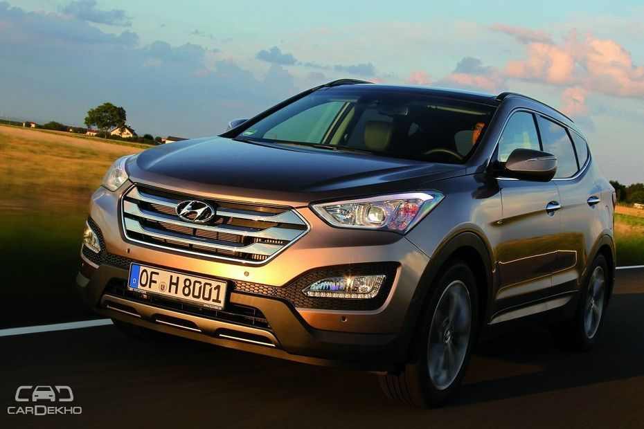 Hyundai Santa Fe Discontinued
