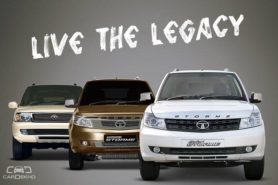 Tata Safari Evolution