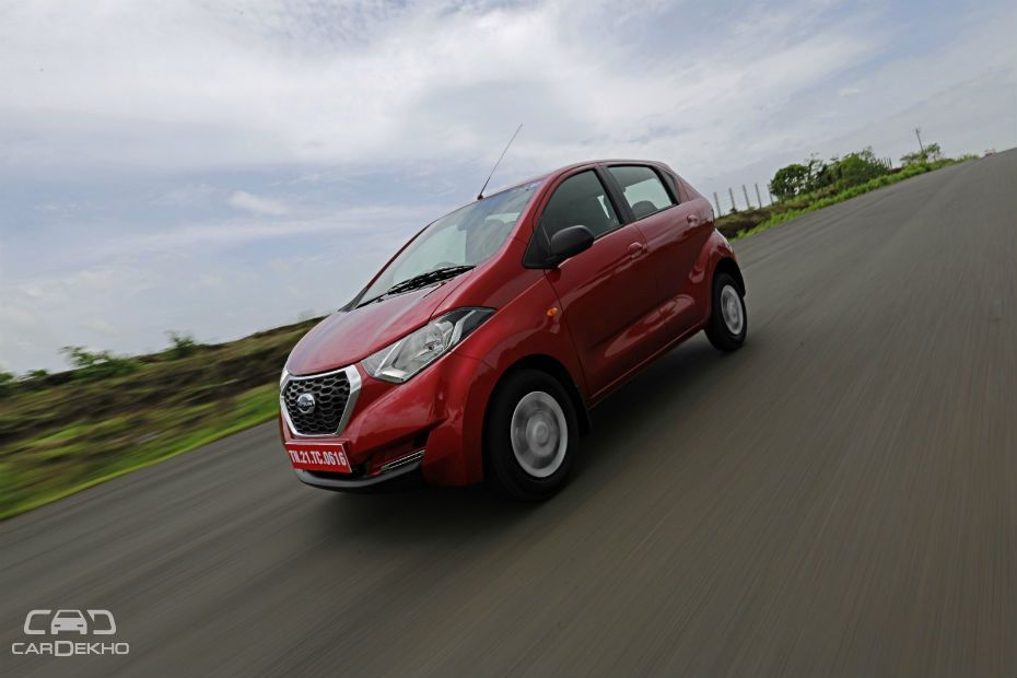Datsun redi-GO 1.0L AMT Bookings Open