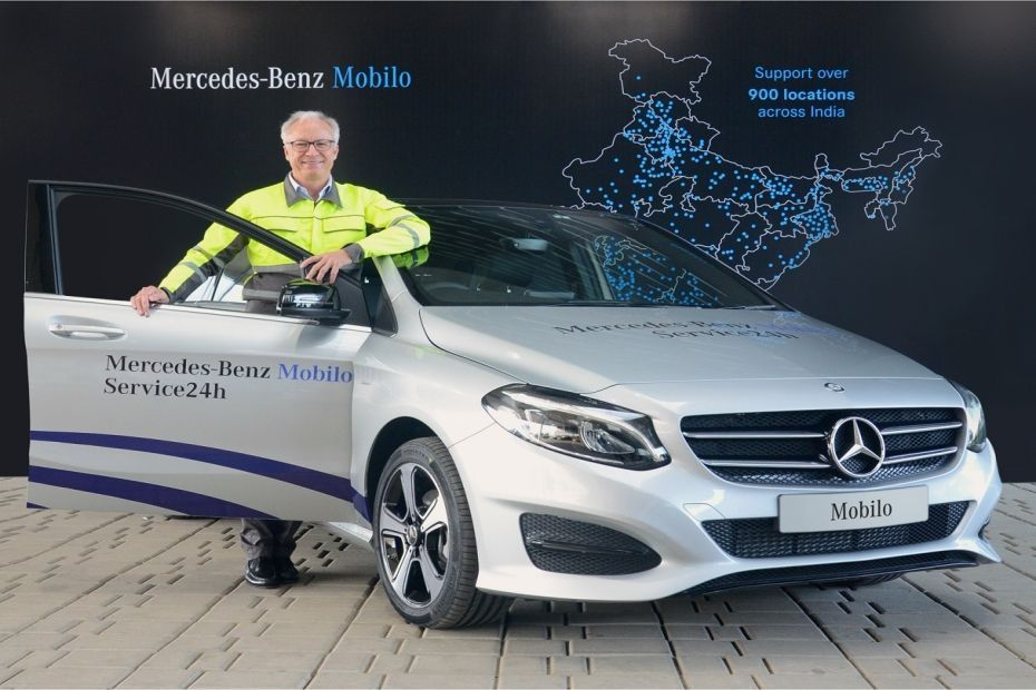 Mercedes benz launches mobilo customer service program in for Mercedes benz road side assistance