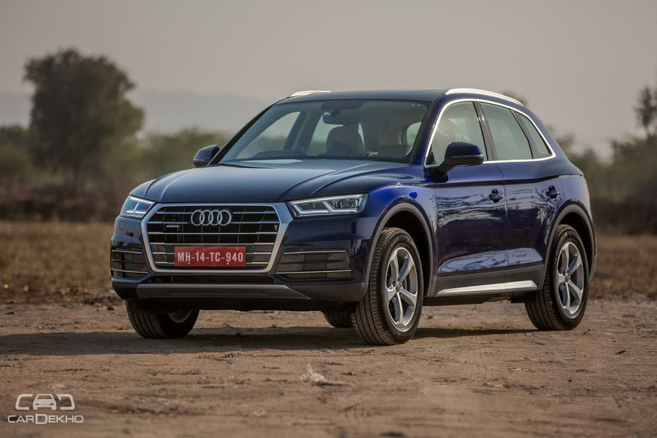 second gen audi q5 launched at rs lakh. Black Bedroom Furniture Sets. Home Design Ideas