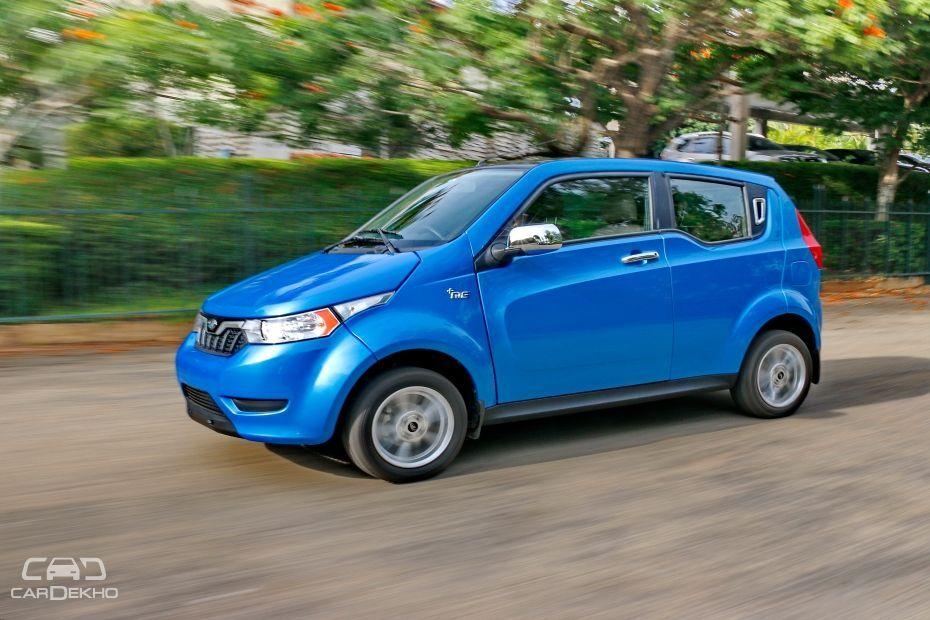 Mahindra To Showcase Six EVs At Auto Expo 2018