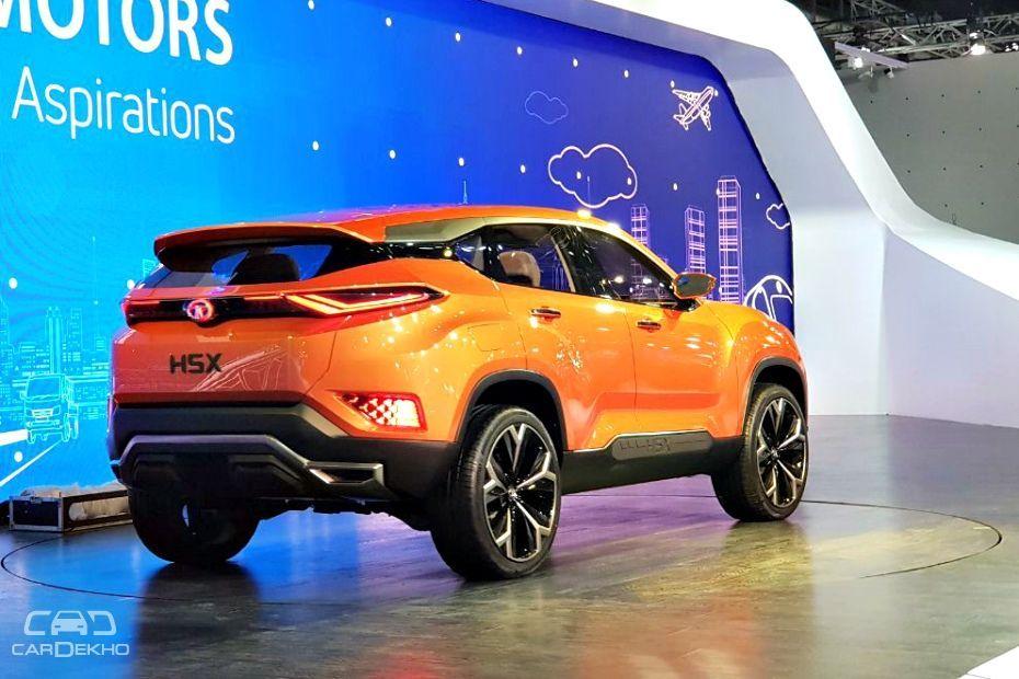 Tata H5x Suv Debuts At Auto Expo 2018