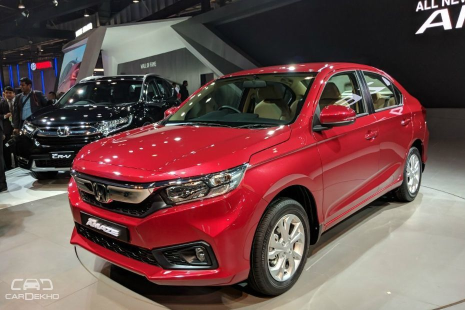 Confirmed honda amaze diesel to get cvt automatic for Honda diesel cars