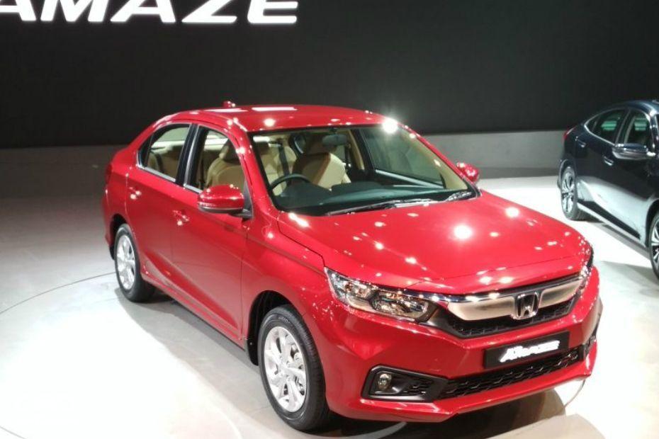 2018 Honda Amaze Front Left View