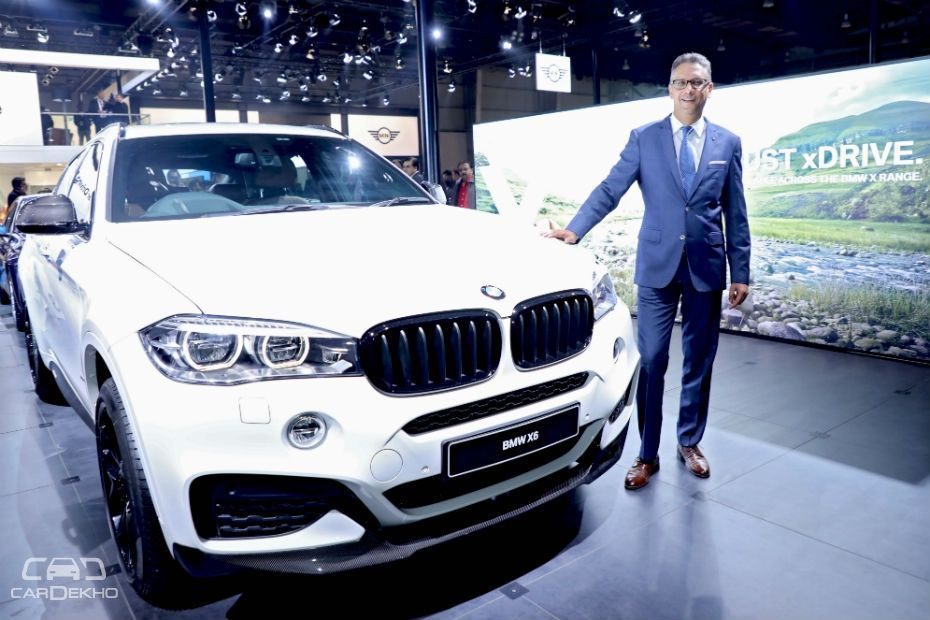 2018 Bmw X6 35i M Sport Launched At Auto Expo 2018